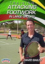 Cover: training attacking footwork in large groups