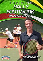 Cover: training rally footwork in large groups