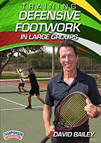 Cover: training defensive footwork in large groups