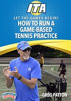 Cover: let the games begin! how to run a game-based tennis practice