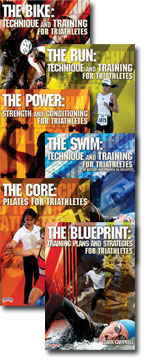 Cover: the ultimate training, technique, and strategy series for triathletes