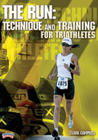 Cover: the run: technique and training for triathletes
