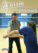 Cover: all access volleyball practice with dan fisher