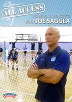 Cover: all access volleyball practice with joe sagula