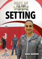 Cover: best of club volleyball: setting