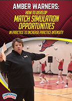 Cover: how to develop match simulation opportunities in practice to increase practice intensity