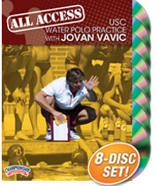 Cover: all access usc water polo practice