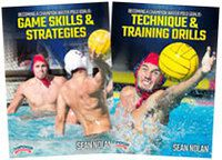 Cover: becoming a champion water polo goalie 2-pack
