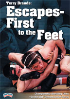 Cover: terry brands: escapes - first to the feet
