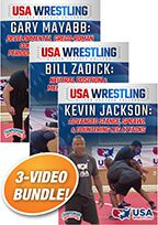 Cover: usa wrestling silver coaches college 3-pack