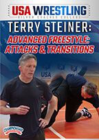 Cover: terry steiner: advanced freestyle: attacks & transitions