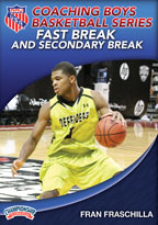 Cover: aau coaching boys basketball series: fast break and secondary break