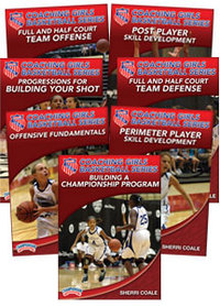 Cover: the aau coaching girls basketball series