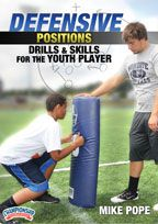 Cover: defensive position drills and skills for the youth player