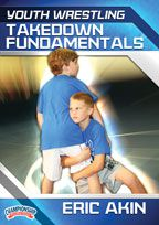 Cover: youth wrestling: takedown fundamentals