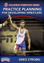 Cover: aau coaching wrestling series: practice planning for developing wrestlers