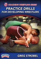 Cover: aau coaching wrestling series: practice drills for developing wrestlers