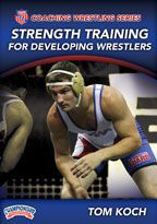 Cover: aau coaching wrestling series: strength training for developing wrestlers